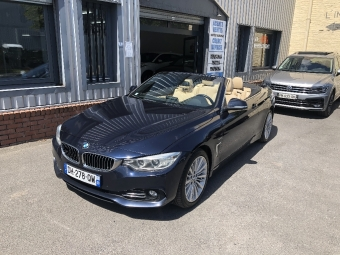 <strong>BMW SERIE 4</strong><br/>Cab 420d 184 ch Luxury A